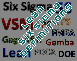 lean and six sigma definitions website